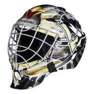 Pittsburgh Penguins Franklin NHL Full Size Street Youth Goalie Mask GFM 1500
