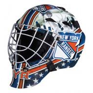 New York Rangers Franklin NHL Full Size Street Youth Goalie Mask GFM 1500