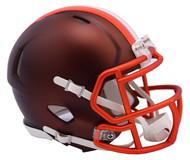 Cleveland Browns Riddell NFL Alternate Blaze Replica Mini Speed Helmet
