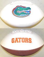 Florida Gators Rawlings Jarden Sports Signature NCAA Full Size Fotoball Football - BLOWN UP with BOX & PEN