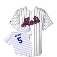David Wright New York Mets Majestic Home Custom XL Jersey