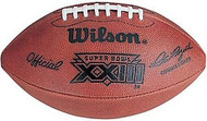 Super Bowl 23 XXIII Wilson Official NFL Game Football 49ers vs. Bengals