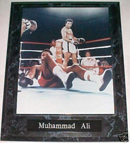 Muhammad Ali Boxing 10.5x13 Plaque