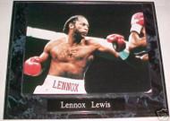 Lennox Lewis Boxing 10.5x13 Plaque