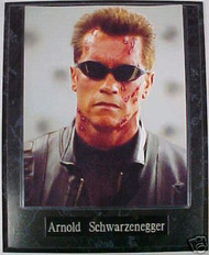 Arnold Schwarzenegger Terminator 10.5x13 Plaque