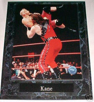 Kane WWE Wrestling 10.5x13 Plaque