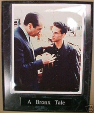 A Bronx Tale Palminteri & Brancato 10.5x13 Plaque
