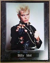 Billy Idol Rock 'N' Roll 10.5x13 Plaque