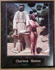 Charlton Heston Planet Of The Apes 10.5x13 Movie Plaque