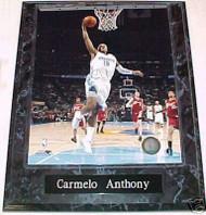 Carmelo Anthony Denver Nuggets 10.5x13 Plaque
