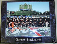 Chicago Blackhawks 2009 Winter Classic Team 10.5 x 13 Plaque Toews & Kane