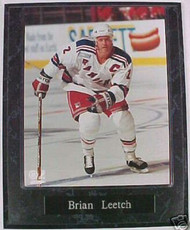 Brian Leetch New York Rangers 10.5x13 Plaque