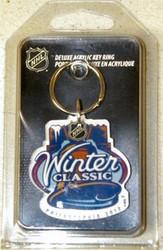 2012 Winter Classic Philadelphia NHL Team Logo Wincraft Acrylic Premium Key Ring