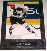 Paul Kariya Colorado Avalanche 10.5x13 Plaque