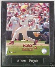 Albert Pujols St. Louis Cardinals 10.5x13 Plaque