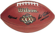 Super Bowl 35 XXXV Wilson Official NFL Game Football Giants vs. Ravens