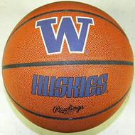 Washington Huskies NCAA Rawlings Tip Off Full Size Basketball
