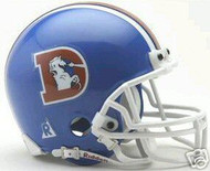 Denver Broncos 1975-1996 Riddell NFL Replica Throwback Mini Helmet