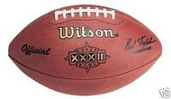 Super Bowl 32 XXXII Wilson Official NFL Game Football Broncos vs. Packers
