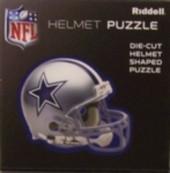 "Dallas Cowboys Riddell NFL 16""x16"" Helmet Puzzle 100 Pieces"