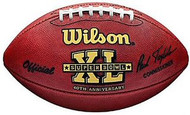 Super Bowl 40 XL Wilson Official NFL Game Football Seattle Seahawks vs. Pittsburgh Steelers