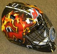 New Jersey Devils Franklin NHL Full Size Street Extreme Youth Goalie Mask