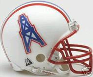 Houston Oilers 1981-1996 Riddell NFL Replica Throwback Mini Helmet