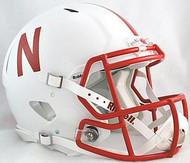 Nebraska Cornhuskers Riddell NCAA Authentic Revolution SPEED Pro Line Full Size Helmet