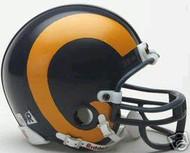 Los Angeles Rams 1981-1999 Riddell NFL Replica Throwback Mini Helmet