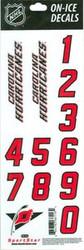 Carolina Hurricanes Sportstar Officially Licensed Authentic Center Ice NHL Hockey Helmet Decal Kit #2