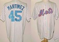 Pedro Martinez New York Mets Majestic Home Custom XL Jersey