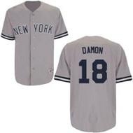 Johnny Damon New York Yankees Majestic Road Custom XL Jersey