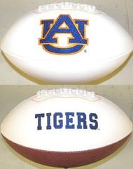 Auburn Tigers Rawlings Jarden Sports Signature NCAA Full Size Fotoball Football - BLOWN UP with BOX & PEN