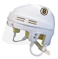 Boston Bruins NHL White Player Mini Hockey Helmet
