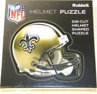 New Orleans Saints Riddell NFL 16x16 Helmet Puzzle 100 Pieces