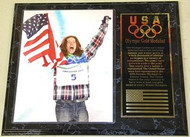Shaun White Team USA Olympic Games 15x12 Gold Medal Plaque