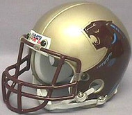 Michigan Panthers GOLD USFL United States Football League Authentic Mini Helmet