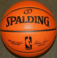 "Spalding ""Game Ball"" Official NBA Game Basketball - Adam Silver"