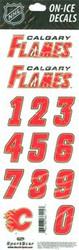 Calgary Flames Sportstar Officially Licensed Authentic Center Ice NHL Hockey Helmet Decal Kit #3