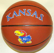 Kansas Jayhawks NCAA Rawlings Triple Threat Full Size Basketball