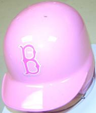 Boston Red Sox Pink Riddell MLB Replica Mini Batting Helmet