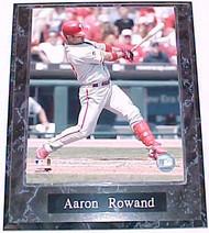 Aaron Rowand Philadelphia Phillies 10.5x13 Plaque