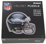"Philadelphia Eagles Riddell NFL 16""x16"" Helmet Puzzle 100 Pieces"
