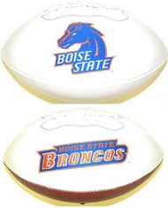 Boise State Broncos Rawlings Jarden Sports Signature NCAA Full Size Fotoball Football - DEFLATED without Box/Pen
