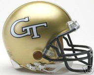 Georgia Tech Yellow Jackets Riddell NCAA Replica Mini Helmet