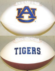 Auburn Tigers Rawlings Jarden Sports Signature NCAA Full Size Fotoball Football - DEFLATED without Box/Pen