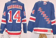 Brendan Shanahan New York Rangers NHL Premier XL Blue Custom Reebok Jersey