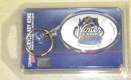 2012 Winter Classic Philadelphia NHL Team Logo Wincraft Acrylic Oval Key Ring