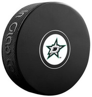 "Dallas Stars NHL Team Logo Autograph Model Hockey Puck - Current ""D"" Logo"