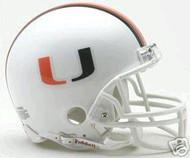 Miami Hurricanes Riddell NCAA Replica Mini Helmet